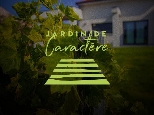 Logo du paysagiste Jardin de Caractère.