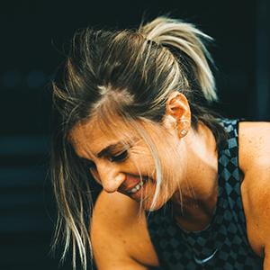 Aurélie Laurent, gérante du club Agitaform